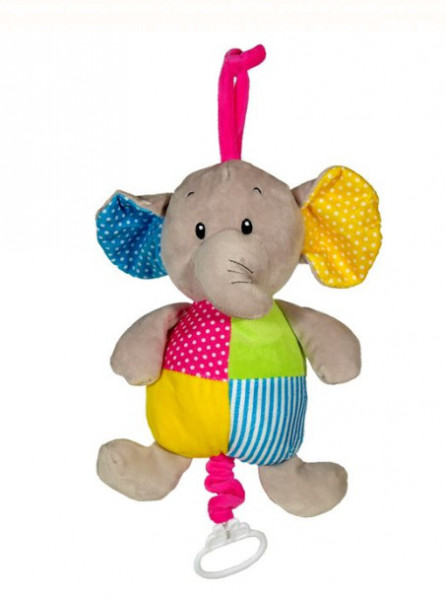 Carusel muzical elefant - 27cm