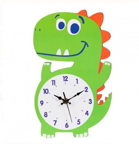 """<img src=""""dino.png"""" alt=""""Ceas de perete - Dinozaur din lemn pentru copii - 30x18x0,5 cm"""">"""