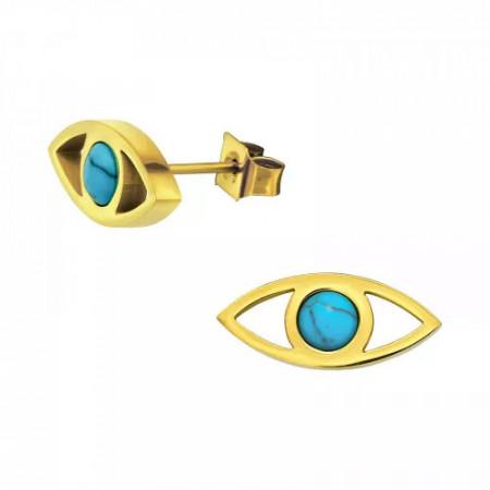 Cercei placati cu aur, Gold Eyes
