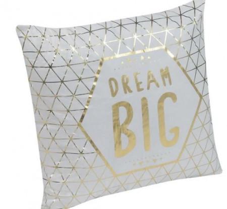 """Perna decorativa cu mesaj """"Dream Big"""""""