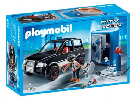PLAYMOBIL Hot si vehicul de fuga