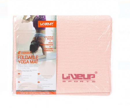 Covor fitness roz pliabil - 173x61 cm