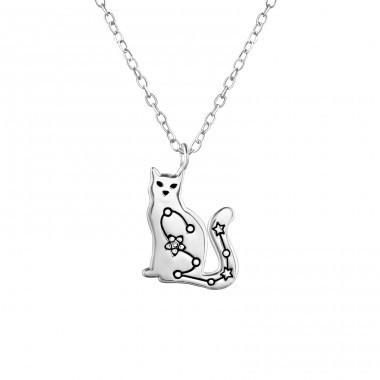 Colier Argint 925, Model Constelatie pisica
