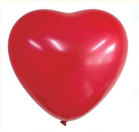 Mega balon in forma de inima - 91 cm