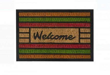 """<img src=""""covoras welc.png"""" alt=""""Covor de ușă - dungi colorate - Mesaj """"Bun venit"""" 60x40 cm"""">"""