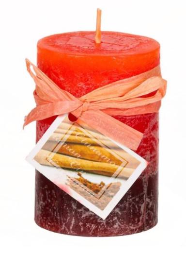 Lumanare parfumata, Aroma de scortisoara, 7.5x5 cm