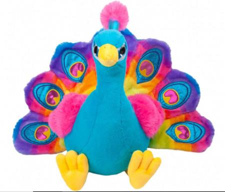 Paun multicolor - 42cm