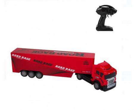 Camion rosu cu telecomanda, rosu - 51 X 8 X 12 CM