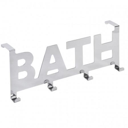CUIER METALIC ALB BATH - 32 CM