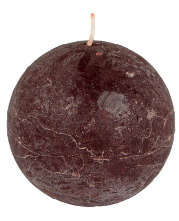 Lumanare rotunda, aroma cafea, 8x8 cm