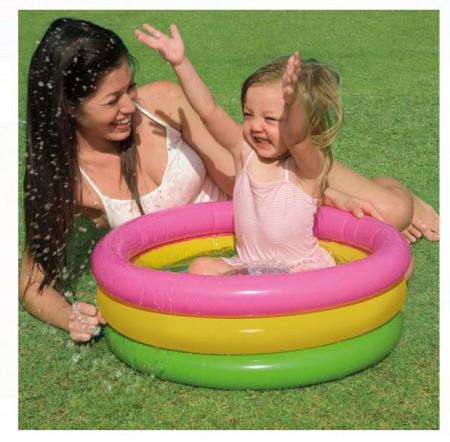 Piscina pentru copii colorat 61x22 - Intex