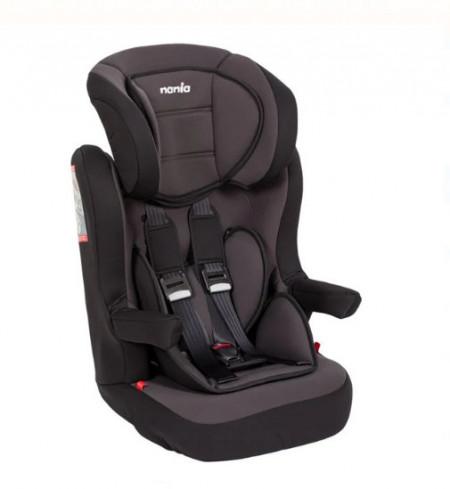 Scaun auto pentru copii, Negru - Gri, 18-36 kg, 44x40x69 cm