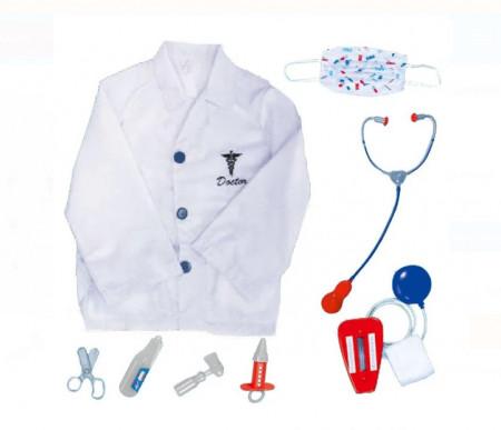 Set instrumente doctor cu halat