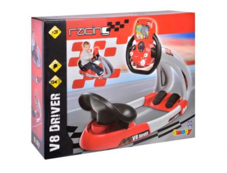 """<img src=""""v8.png"""" alt""""Simulator masina de curse V8 Driver, 86 cm"""">"""