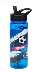 Bidon apa pentru copii cu design fotbal 650ml