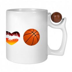Cana personalizata, cu maneca basketball, poze + text