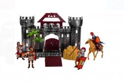 Castelul Roman cu figuri și cal