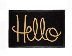 """Covor de ușă - Covor exterior - Mesaj """"Hello"""" 60x40 cm"""