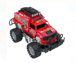Masina Off Road Dragon Roșu Negru - 36 cm