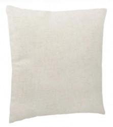 Perna canapea alb natural 38x38 cm
