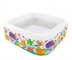 Piscină gonflabilă pătrată 159x50 - Intex