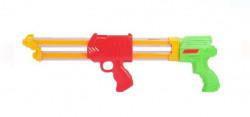 Pistol cu apă cu 2 butoaie transparente de 52 cm