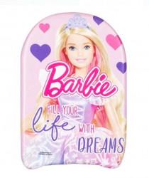 Placa de inot Kids Pink Hearts Barbie 45x26 cm