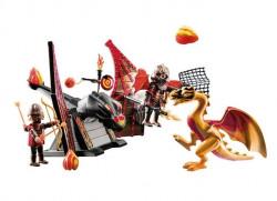 PLAYMOBIL Cavalerii din Burnham cu Dragon