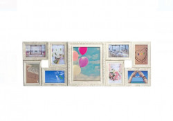 Rama foto (9 poziții), plastic, 90x31,5 cm