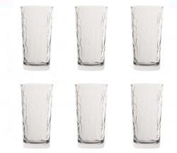 Set pahare de apă cu design diamant