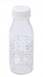 Solnita sare cu capac alb din plastic.