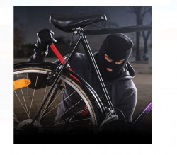Alarmă pentru bicicletă cu telecomandă