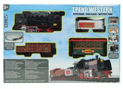 Joc clasic tren occidental cu sunet si lumina