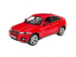 Masina de jucarie BMW X6 rosu pentru copii cu telecomanda