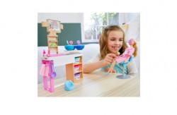 Set de joaca Papusa Barbie, O zi la salonul Spa cu accesorii Wellness and Fitness