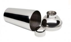 Shaker metalic cu sită și capac 600 ml