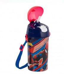 Bidon apa pentru copii cu design Spiderman
