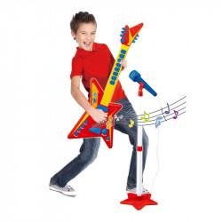 Chitara cu microfon, 8taste, 35x6x60 cm