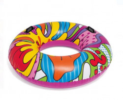 Colac de înot colorat cu mânere