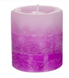 Coloana Lumânare parfumata Violet Liliac - 7x7,5 cm