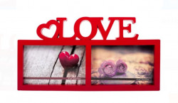 Rama foto 3D - 2 pozitii - LOVE 10x15 cm
