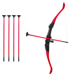 Set tir cu arcul , plastic, 5 sageti, 65 cm