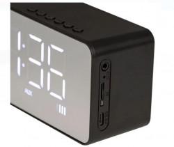 Boxa Bluetooth - Ceas cu alarmă - Radio