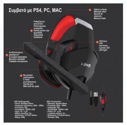 Căști gaming cu fir si microfon pentru PS4 / PC / MAC
