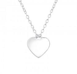 Colier Argint 925, Inima