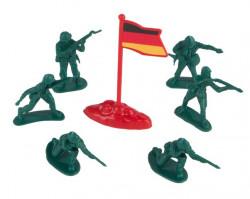Figurine soldați Diverse suporturi - 40 buc.