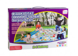 Joc interactiv Gigantic Serpi si Scari - 131 x 94 x 3 cm