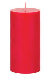 Lumanare tip coloana, Aroma scortisoara, 14x6 cm