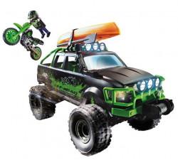PLAYMOBIL Mașină de curse și motor off-road