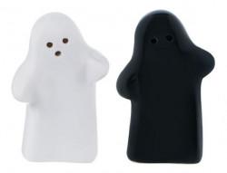 Set solnita de sare și piper din ceramică cu formă de fantomă